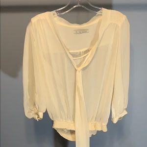 Lara Cream Color Long Sleeve
